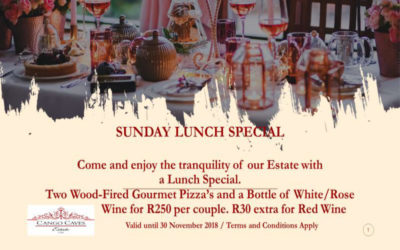 Cango Caves Estate Lunch Special