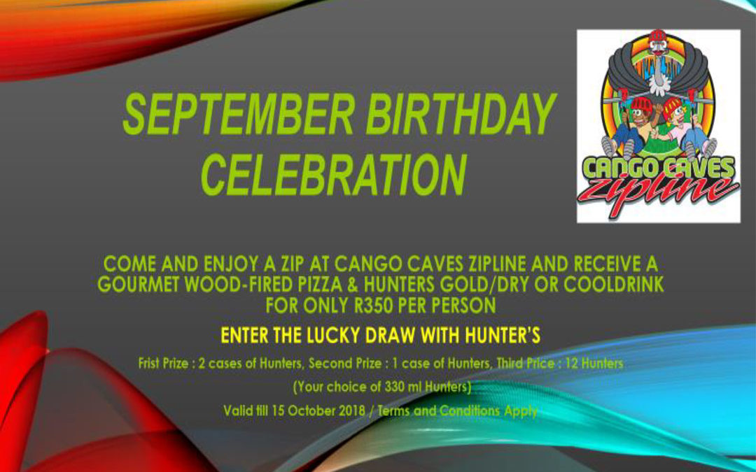 Cango Caves Zipline Birthday Special