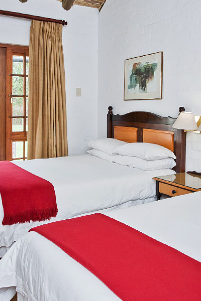 Protea Hotel Twin Bedroom