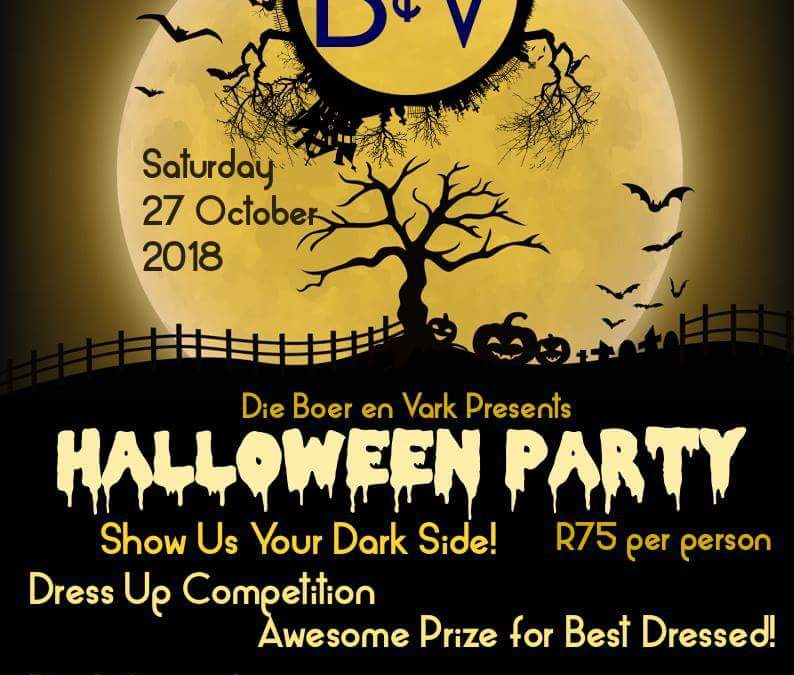Die Boer & Vark – Halloween Party