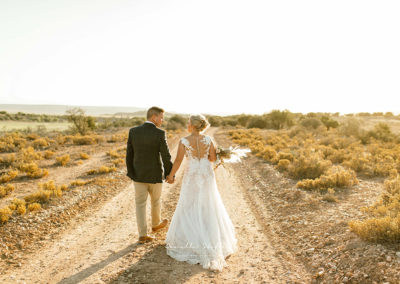 Buffelsdrift Game Lodge Wedding - Bride & Groom