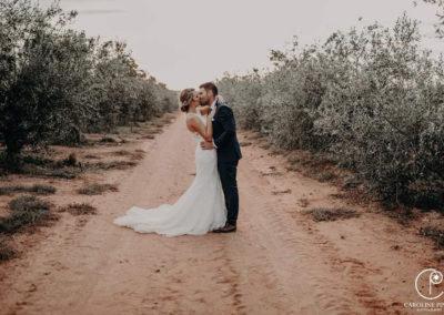 Surval Boutique Olive Estate - Bride & Groom in Orchards